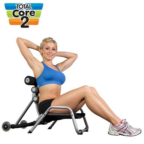 Banco para abdominales Total Core 2visto en TV–Herramienta Fitness Audio para abdominales