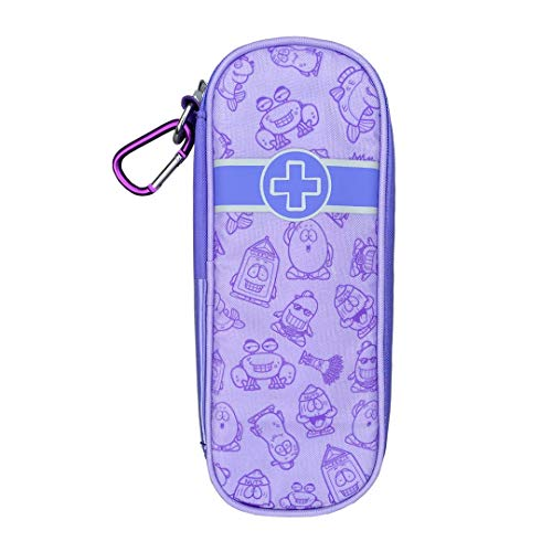 AllerMates Children's Newly Redesigned Medical Allergy Kids Carrying Case for EpiPen or Auvi-Q, and Benadryl