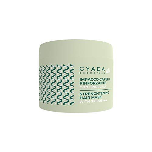 Gyada Cosmetics IMPACCO CAPELLI RINFORZANTE CON SPIRULINA ● CERTIFICATO BIO ● MADE IN ITALY ● 250 ml
