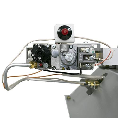 Product Image 1: Dyna-Glo 30,000 BTU LP Overhead Infrared Garage Heater, Grey