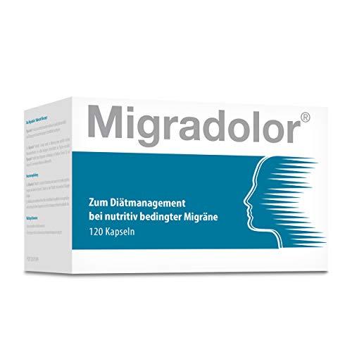 Migradolor Classic - Die natürliche Hilfe bei Migräne I Studienbelegt (120 Kapseln)