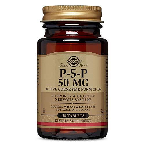 Solgar P-5'-P (Piridoxal-5'-fosfato) Comprimidos - Envase de 50
