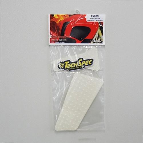 TECHSPEC(テックスペック) GRIPSTER タンクパッド CL(クリア) 1198/1098/848 62-0035-CL