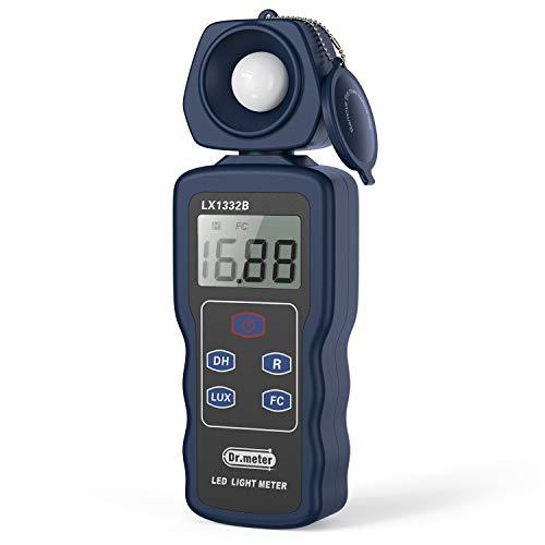 Dr.meter Professional LED Light Meter, Digital...