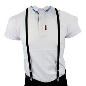 Warrior UK Classic 1/2″ Thin Punk Skinhead Mod Suspenders Braces All Colors