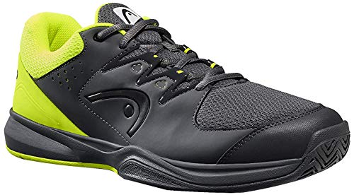HEAD Brazer 2.0 Tennis Shoes for Men, Size-8 (Neon Yellow)