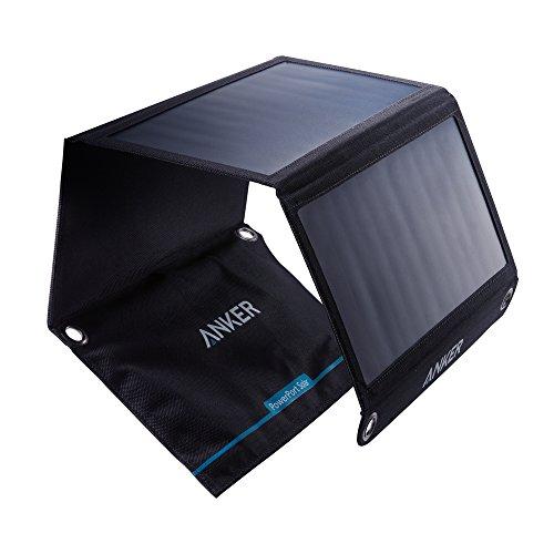 Anker PowerPort Solar - Chargeur Solaire Portable 21W 2 Ports USB pour...