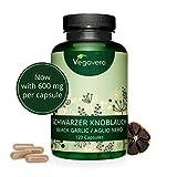 Ajo Negro Vegavero | Ahora 600 mg de Extracto 10:1 | Equivale a 6000 mg | Testado en Laboratorio -...