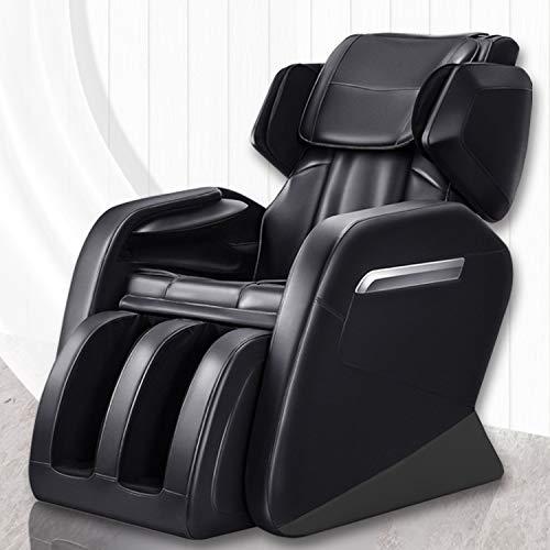 Full Body Massage Chair, Keymao Superior Massage Recliner New Tap, Roll & Knead Program Zero Gravity Massage Chair Recliner with Heat and Foot Rollers Heat Therapy Body Massager