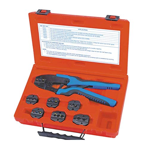 Sherman S&G Tool Aid 18960 Quick Change Ratcheting Terminal Crimping Kit