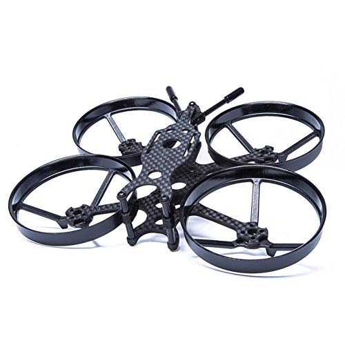 XHUENG Alta qualit FPV Race Bwhoop Frame Kit 2.3 Pollici Rack con condotti/per Turbobee 111R Micro Rc Drone FPV Racing Quadcopter (Color : Frame Kit)