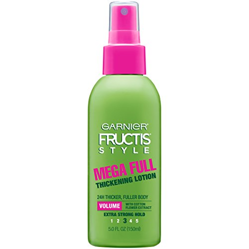 Garnier Fructis Style Mega Full Thickening Lotion for All Hair Types, 5 Ounce (Packaging May Vary)