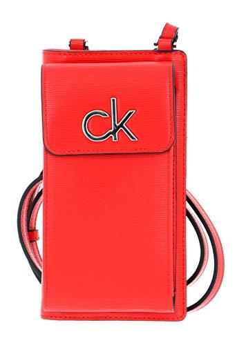 Calvin Klein Phone Pouch XBody Vibrant Coral