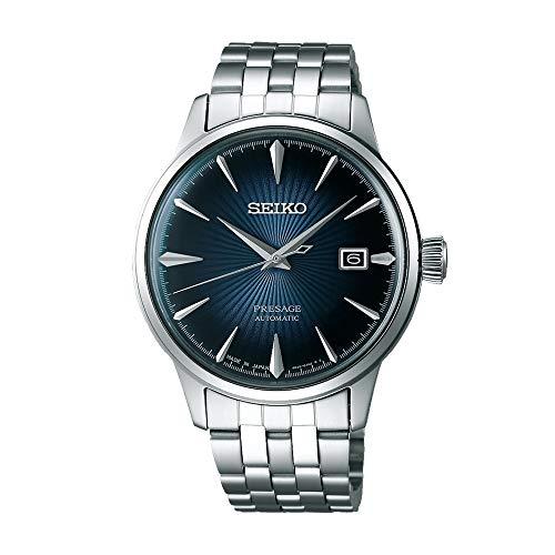 Seiko Herren-Uhren Analog Automatik One Size Edelstahl 87352889