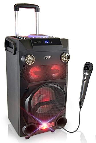 Pyle Outdoor Portable Wireless Bluetooth Karaoke...
