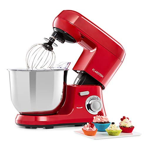 KLARSTEIN Bella Robusta Metal - Robot da Cucina, Alloggiamento Pressofuso, Ciotola in Acciaio Inox...