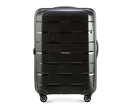 Wittchen valigia da viaggio in polipropilene XL 68 x 46 x 26 cm 3.6 kg 61 L Nero I Luggage Baggage