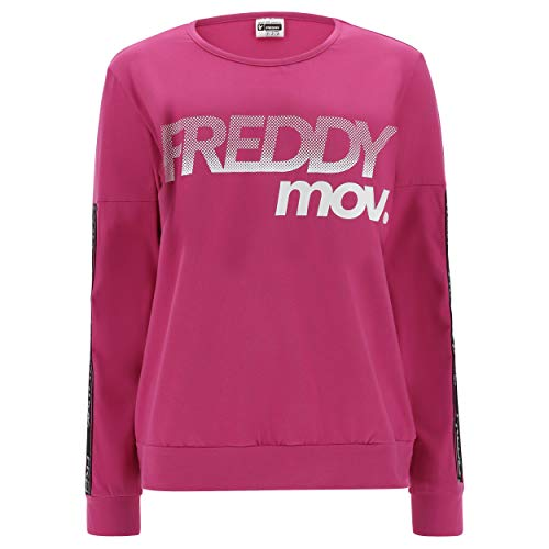 FREDDY Felpa Fitness MOV. Comfort Fit - Rose Violet - Small