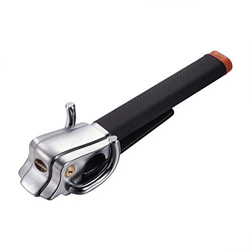 Blueshyhall Car Steering Wheel Lock,Anti-Theft Locking Devices for Auto Car Vehicle Truck SUV,Black