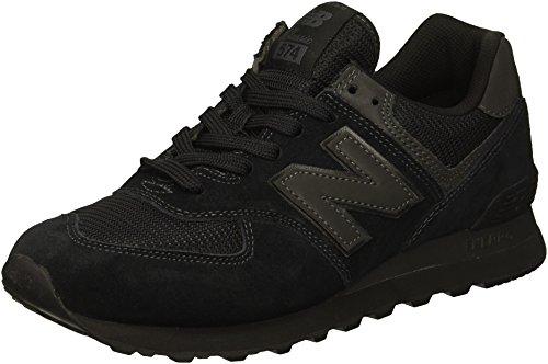 New Balance Hombre 574v2-core Trainers Zapatillas, Negro (Triple Black), 40 EU