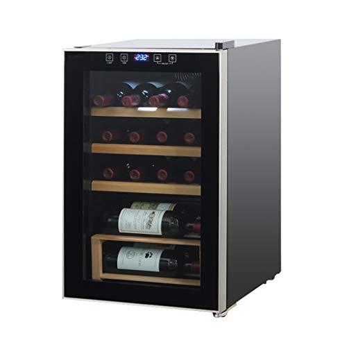 Nuitab Cantinetta Wine Cooler 20 Bottiglie Frigo Vino Bevanda Cellar Door Frigorifero 64 L Vetro...