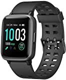 LETSCOM Smart Watch with Heart Rate Monitor, Compatible with iPhone Samsung Android Phones, IP68 Waterproof Activity Tracker Smartwatch with Calorie Counter Sleep Monitor for Women Men