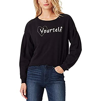 Volume long sleeve knit top with wide crew neck. This knit top has a loose fit body for easy comfort no matter what your activities are Pairs great with all bottoms types from jeans to skirts and all trendy footwear from boots to sandals. Works well ...