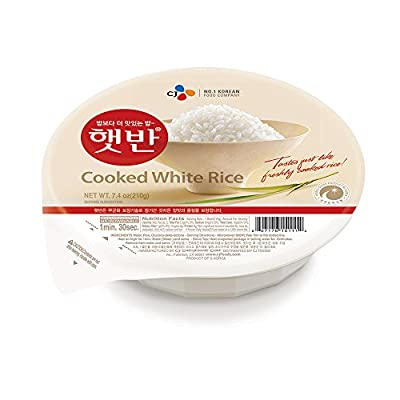 Rice that simply taste better! Great as-is, or for sushi, california rolls, or in a soup. Made from premium crops of rice and cooked under perfect condition for the best possible taste and texture. Perfect for college students, singles, busy professi...
