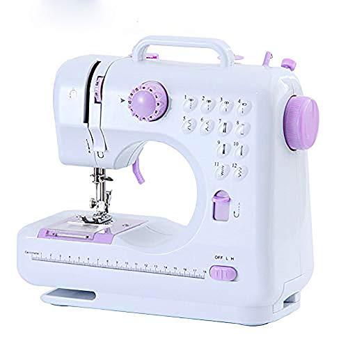 Machine à coudre portable Machine à coudre surjeteuse électrique – Outil de couture à la main pour les petites coutures domestiques