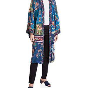 Hazel Long Kimono Embroidery