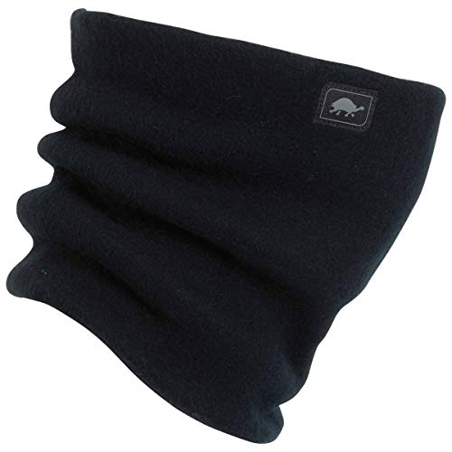 Turtle Fur Heavyweight Fleece Neck Warmer - Black