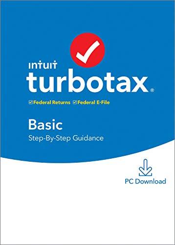 TurboTax Basic 2019 Tax Software [PC Download]