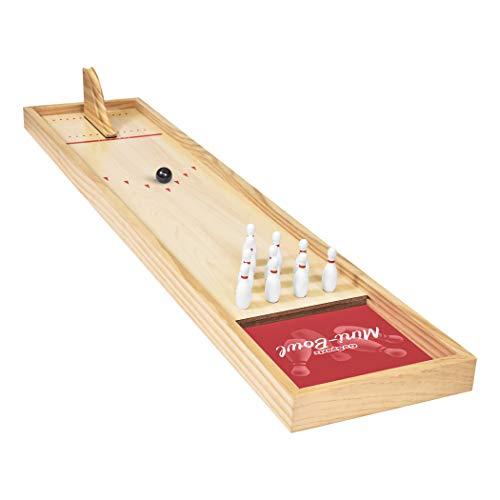 GoSports Tabletop Mini Bowling Game Set - Premium...