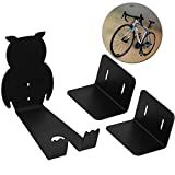 WESTGIRL Bike Pedal Wall Mount, Horizontal Bicycle Storage Hanger Stand, Heavy Duty Pedal Hook Cycling Rack Garage Cycle Holder