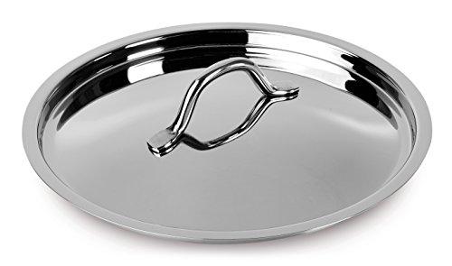 Lagostina Coperchio Every Acciaio Inox 18 10 Cm18 Pentole e Preparazione Cucina, Inossidabile, Argento, 18 cm