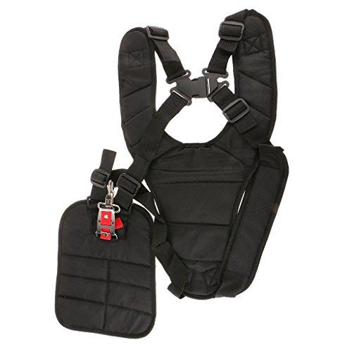 Baoblaze Cintura Per Decespugliatore Grembiule+Cintura A Bretelle Imbracatura Professionale Imbottito