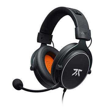 Fnatic React Gaming Headset for PS4/PC with 53mm Drivers, Stereo Sound