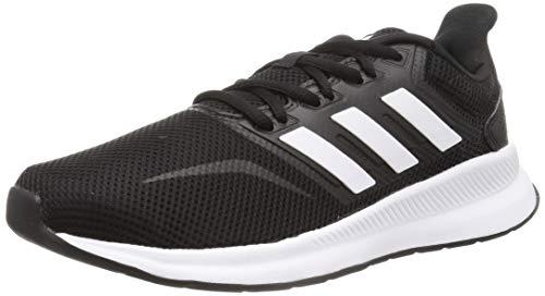 Adidas Falcon, Zapatillas de Trail Running Hombre, Negro/Blanco (Core Black/Cloud White F36199), 42 2/3 EU
