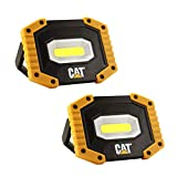 CAT Work Lights CT5002PK CAT Super Bright, Portable Compact LED Indoor Projects and Outdoor Camping Car Work Site Lighting (Pack