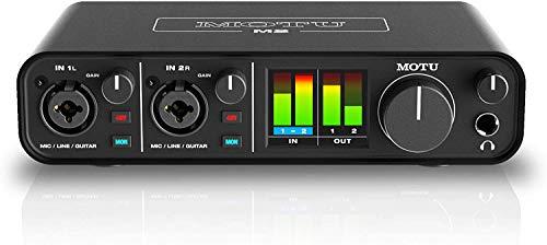 MOTU M2 2x2 USB-C Audio Interface