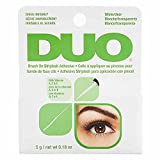 DUO Brush-On Lash Adhesive with Vitamins A, C & E, Clear, 0.18 oz, 1-Pack