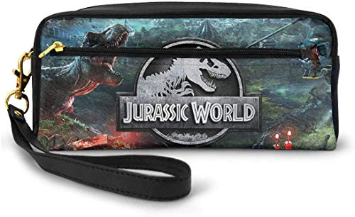 astucci e set per la scuola Jurassic-World Unisex Student Pencil Case Pen Box Zipper Stationery Bag...
