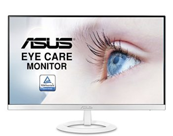 Asus VZ239H-W 23' Full HD 1080P IPS HDMI VGA Eye Care Monitor White
