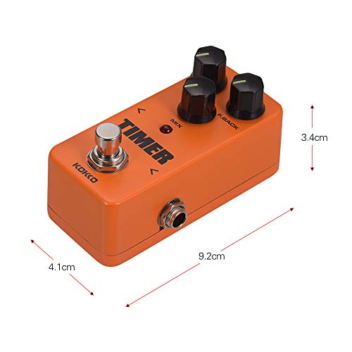 Bedler FD2 MINI Effects Pedal Timer Digital Analog Delay True Bypass Electric Guitar Effect Pedal