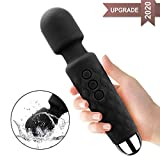 Cordless Wand Massger, Bolly Powerful Personal Massagers for Women with Multi Speeds for Therapeutic Muscle Aches and Sports Recovery