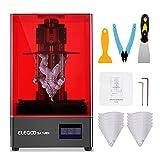 ELEGOO Saturn 3D Printer, MSLA UV Resin 3D Printer with 8.9 inch 4K Monochrome LCD, Speedy Printing and High Precision, 7.55x4.72x7.87 inch Large Build Volume