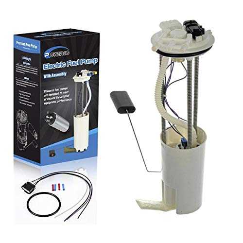 POWERCO High Performance Electric Fuel Pump Module Assembly Replacement For Pickup Truck 1997 1998 1999 2000 E3947M with Sending Unit