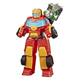 Transformers Playskool Rescue Bots Academy - Robot Secouriste Hot Shot de 35cm -...