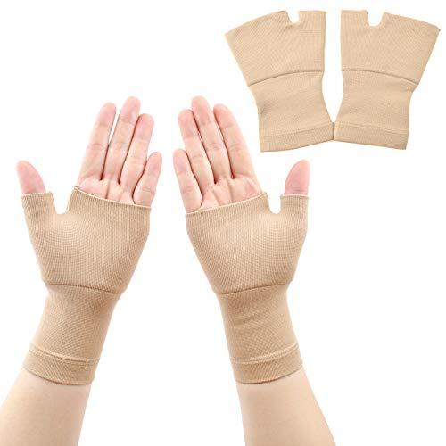 ACODQRazb Handgelenk- und Daumenbandage, 2 Paar, Daumenhandschuh, ideal für Arthritis, Gelenkschmerzen, Sehnenscheidenentzündung, Verstauchungen, Instabilität, Sport