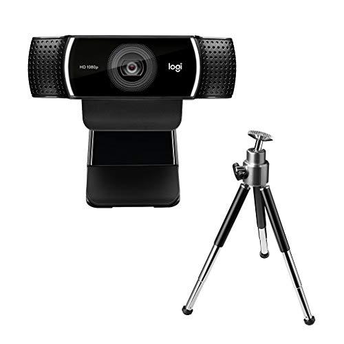 ロジクール ウェブカメラ C922n ブラック フルHD 1080P ウェブカム ストリーミング 自動フォーカス ステレオマイク 撮影用三脚付属 国内正規品 2年間メーカー保証 2020年に買いたいと思っているもの欲しいもの一覧!生活を快適にするため、新しいことに挑戦するためのものばかり!